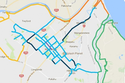 iway - city cycle routes
